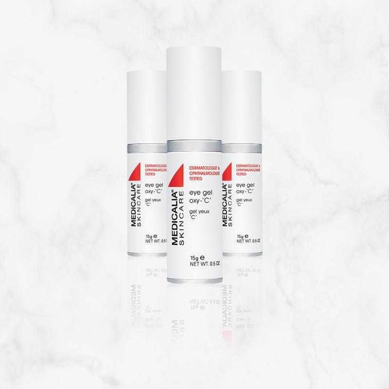 Гель для кожи вокруг глаз Medicalia Eye Gel Oxy с витамином C